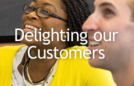 Delighting Our Customers Responsive