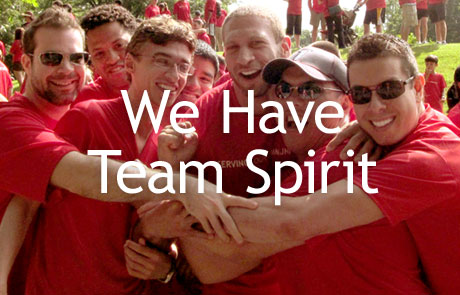 Responsive - We Have Team Spirit