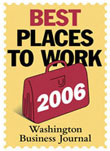 Washington Business Journal Best Places to Work 2006